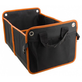 ORGANIZÉR ORANGE do KUFRU DVOJITÝ 54 x 34 cm (56 litrů) - COMPASS