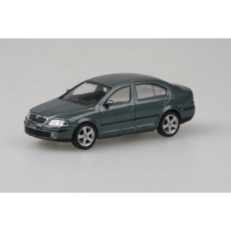 ŠKODA OCTAVIA II SEDAN - 1:43 - ABREX - Grey Graphite Metallic
