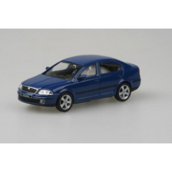 ŠKODA OCTAVIA II SEDAN - 1:43 - ABREX - Blue Dynamic