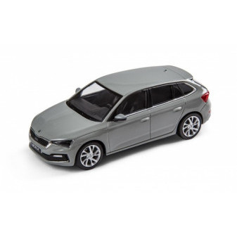 ŠKODA SCALA - 1:43 - i-SCALE - Steel Grey