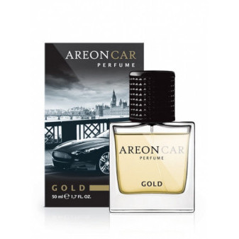 VŮNĚ nejen do auta AREON PERFUME 50 ml - GOLD