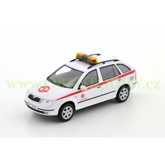 ŠKODA FABIA COMBI - ABREX - 1:43 - POHOTOVOST AUTOBUSY (Emergency for Buses)