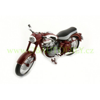 JAWA 500 OHC (1956) - 1:18 - ABREX - Dark Cherry Red