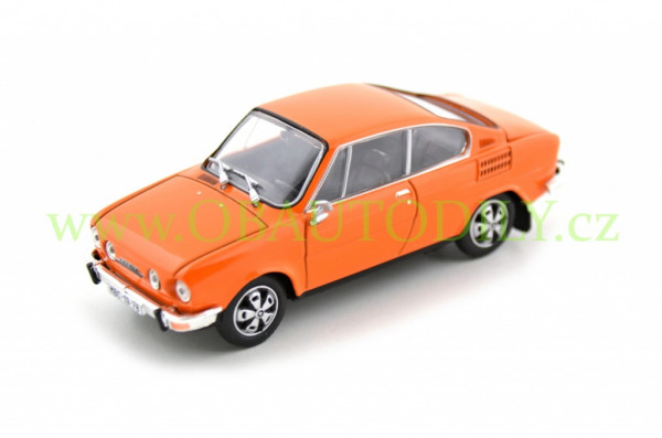 ŠKODA 110R (1980) - 1:43 - ABREX - Orange