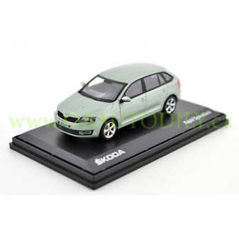 ŠKODA RAPID SPACEBACK - 1:43 - ABREX - Arctic Green Metallic