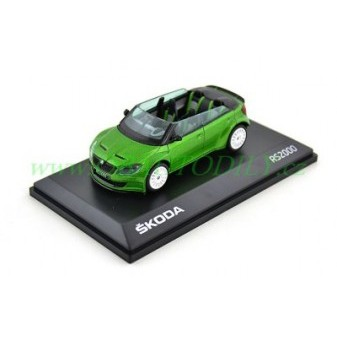 ŠKODA FABIA RS2000 - 1:43 - ABREX - CONCEPT CAR - Rallye Green Metallic