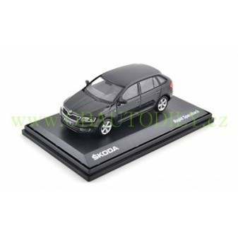ŠKODA RAPID SPACEBACK - 1:43 - ABREX - Black Magic