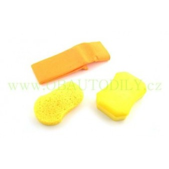 WASH WAX SPONGE AUTO KIT SPONGE TECH - 3 ks