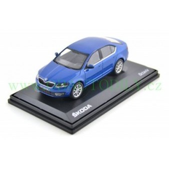 ŠKODA OCTAVIA III SEDAN - 1:43 - ABREX - Blue Race Metallic