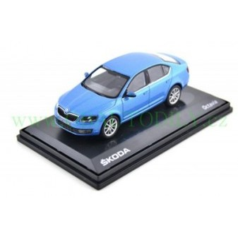 ŠKODA OCTAVIA III SEDAN - 1:43 - ABREX - Denim Blue Metallic