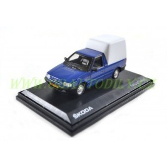 ŠKODA FELICIA PICK - UP 1996 - 1:43 - ABREX - Arctic Blue