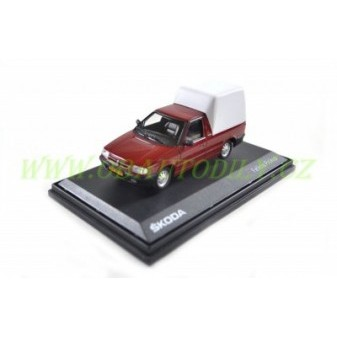 ŠKODA FELICIA PICK - UP 1996 - 1:43 - ABREX - Romantic Red