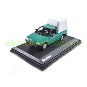ŠKODA FELICIA PICK - UP 1996 - 1:43 - ABREX - Atlantic Green