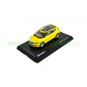 ŠKODA JOYSTER - 1:43 - ABREX - CONCEPT CAR - Yellow
