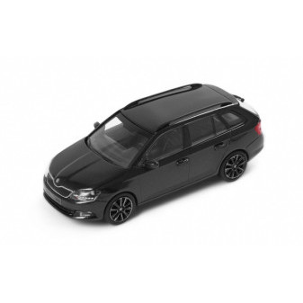 ŠKODA FABIA III COMBI - 1:43 - i-SCALE - Magic Black